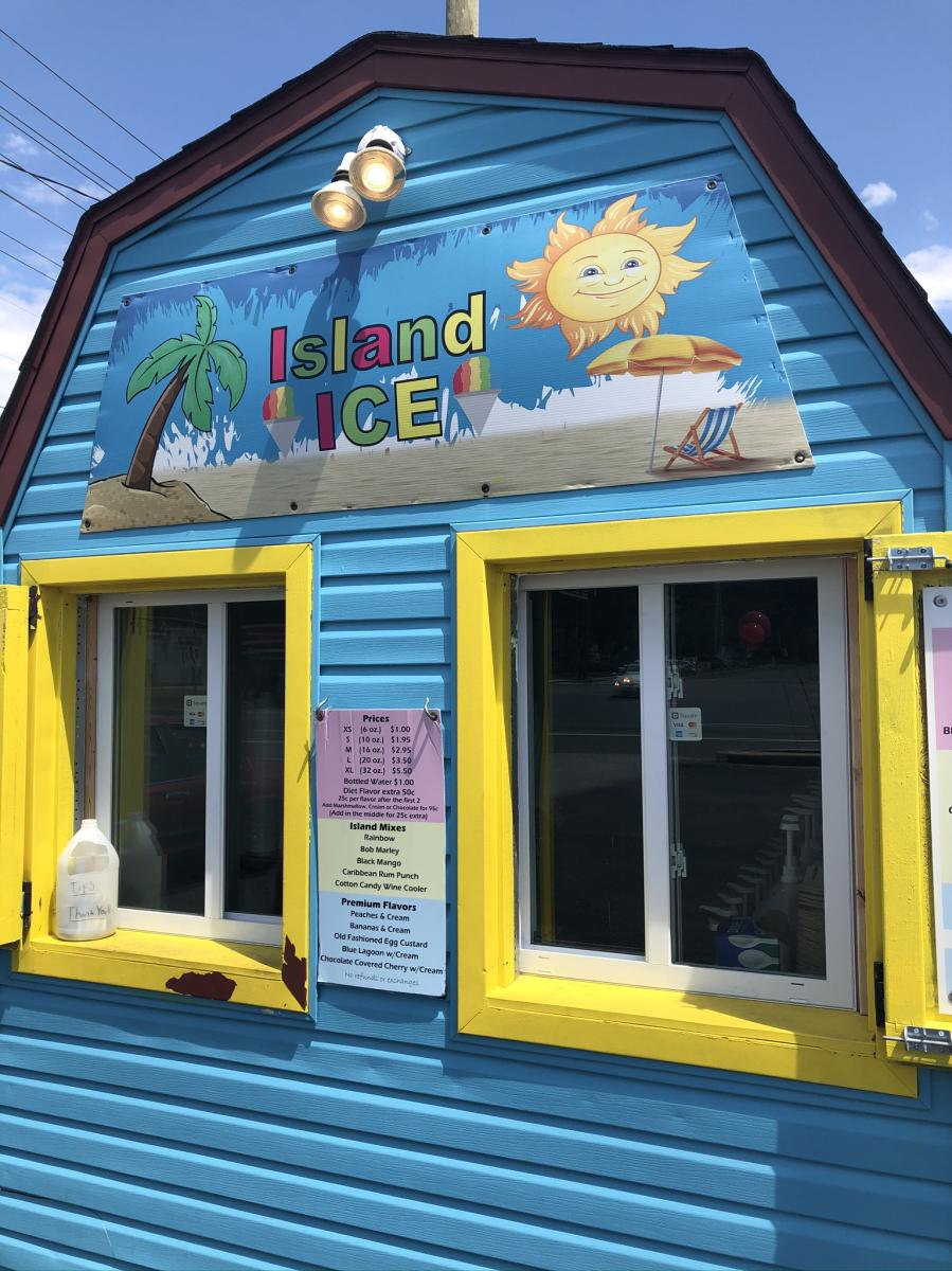 Island Ice Snowball Stand