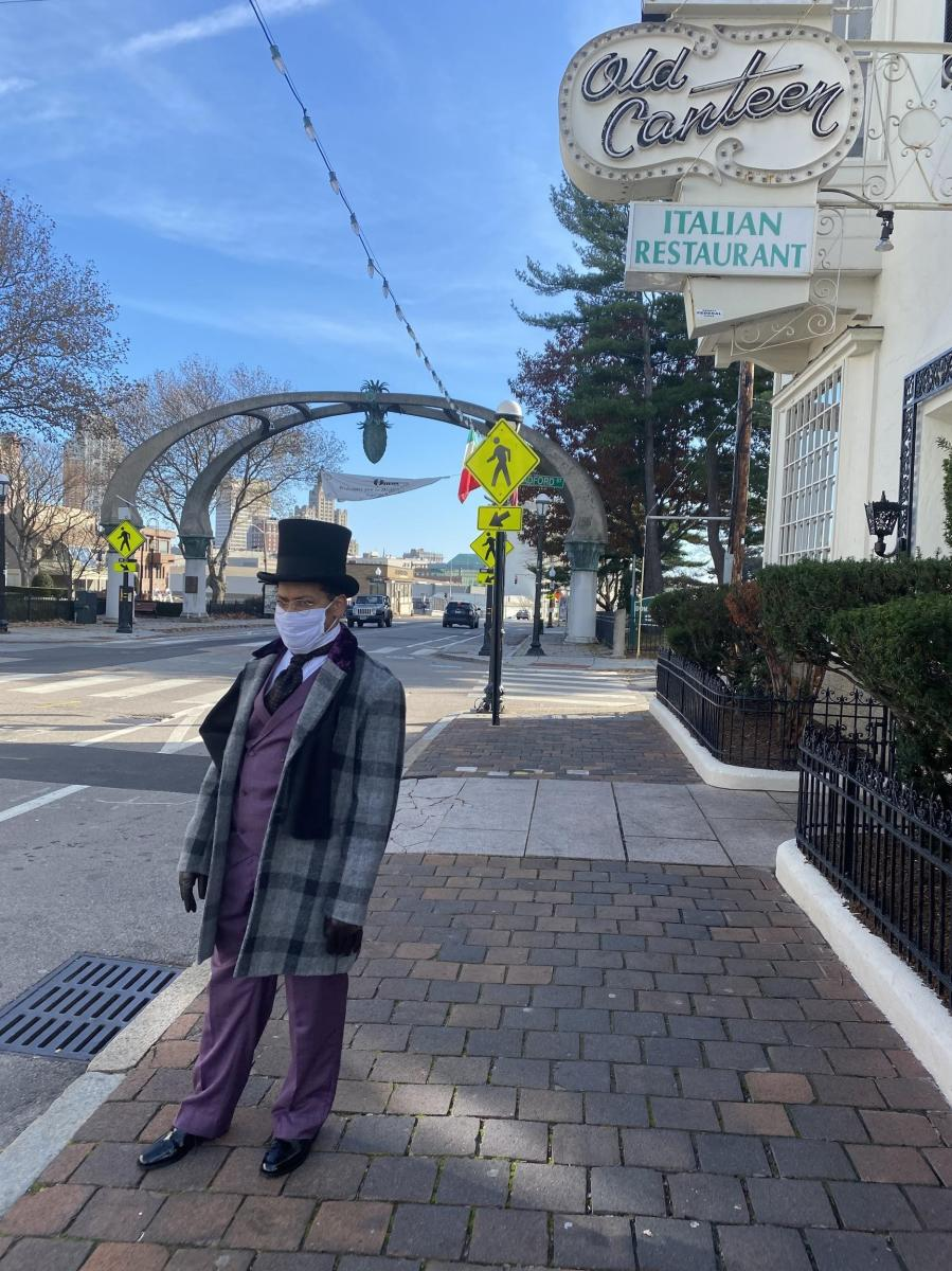 Scrooge on Federal Hill by ADC