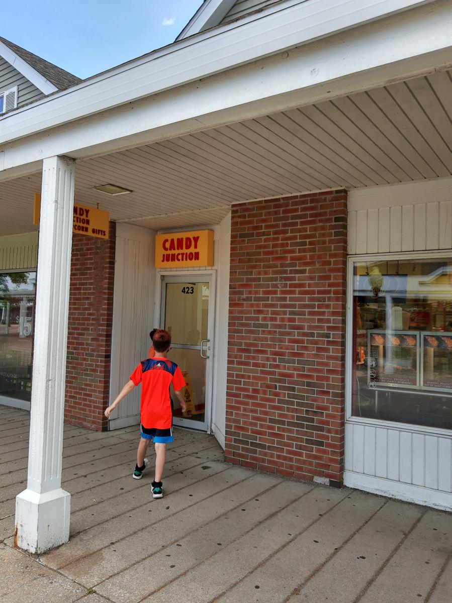 Yes Day in NWI - Lighthouse Place Candy Junction