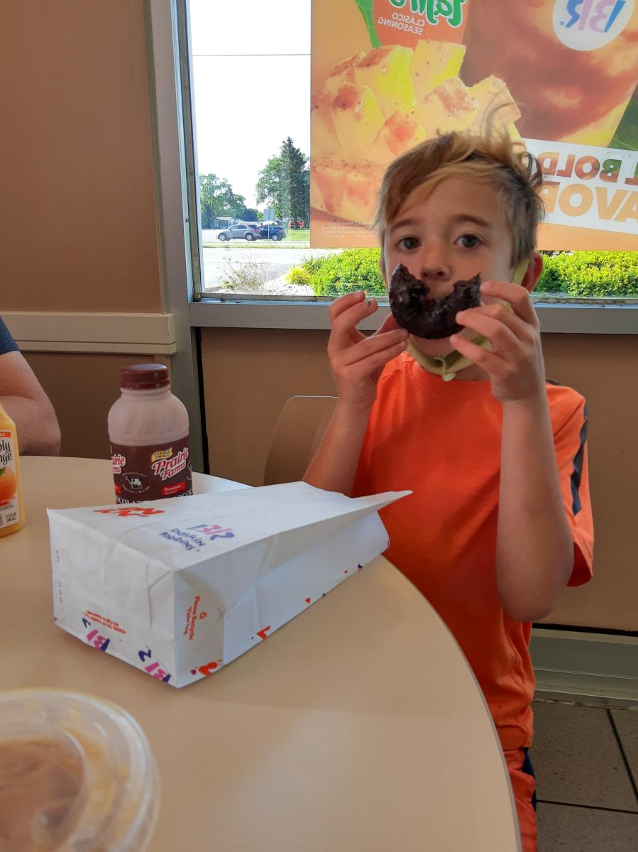 Yes Day in NWI - donuts