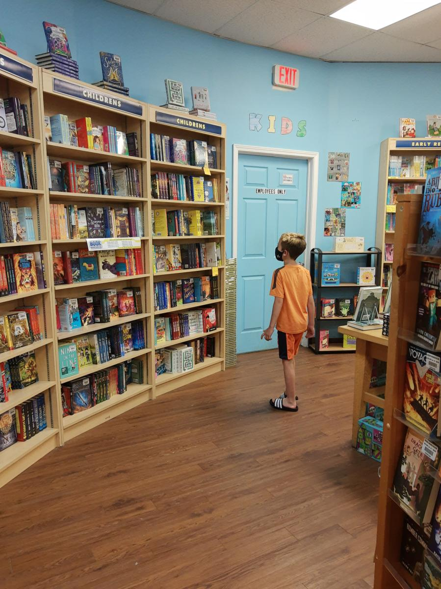 Yes Day in NWI - Lighthouse Place books