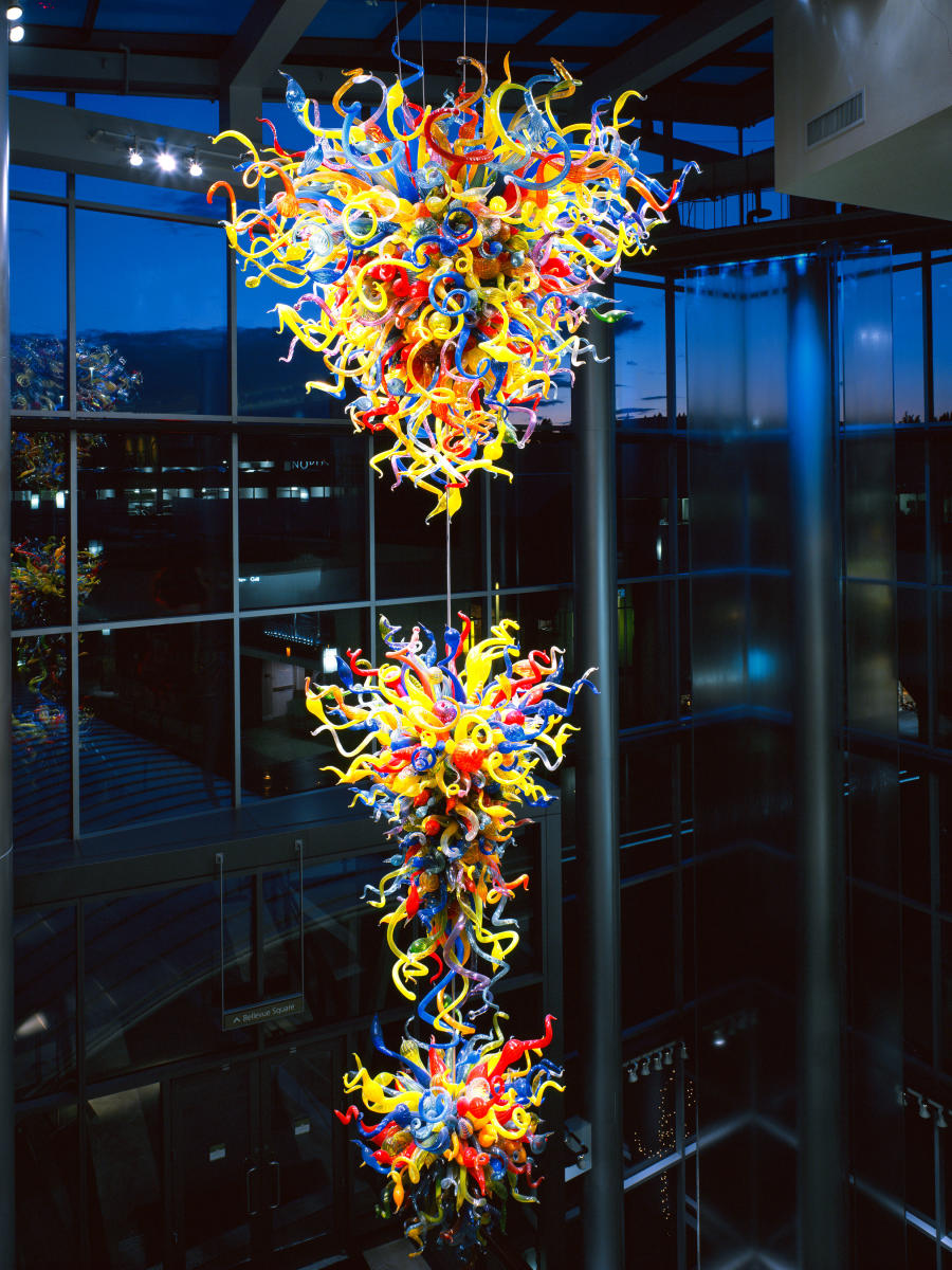 Chihuly Glass at Lincoln Square