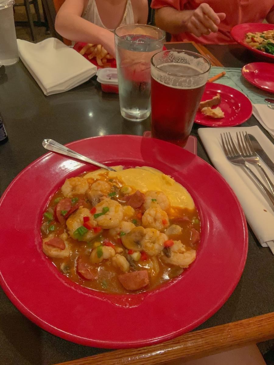 Well Traveled Child Amos Mosquitos Shrimp and Grits