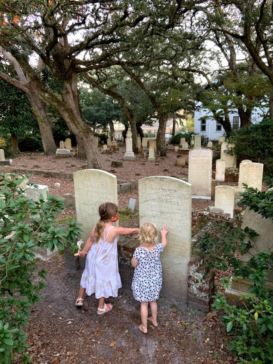 Old headstones invite visitors to step back in time at the Old Burying Grounds