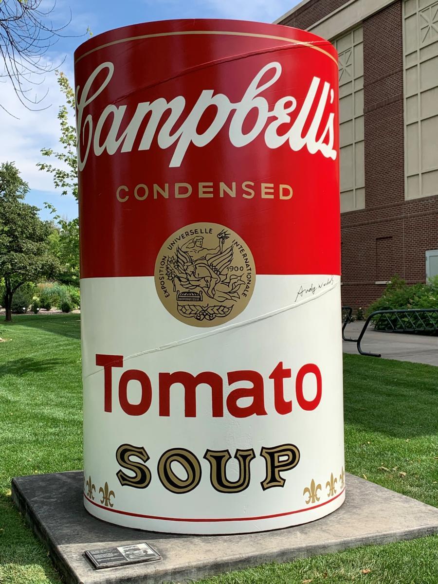 Soup Can Public Art