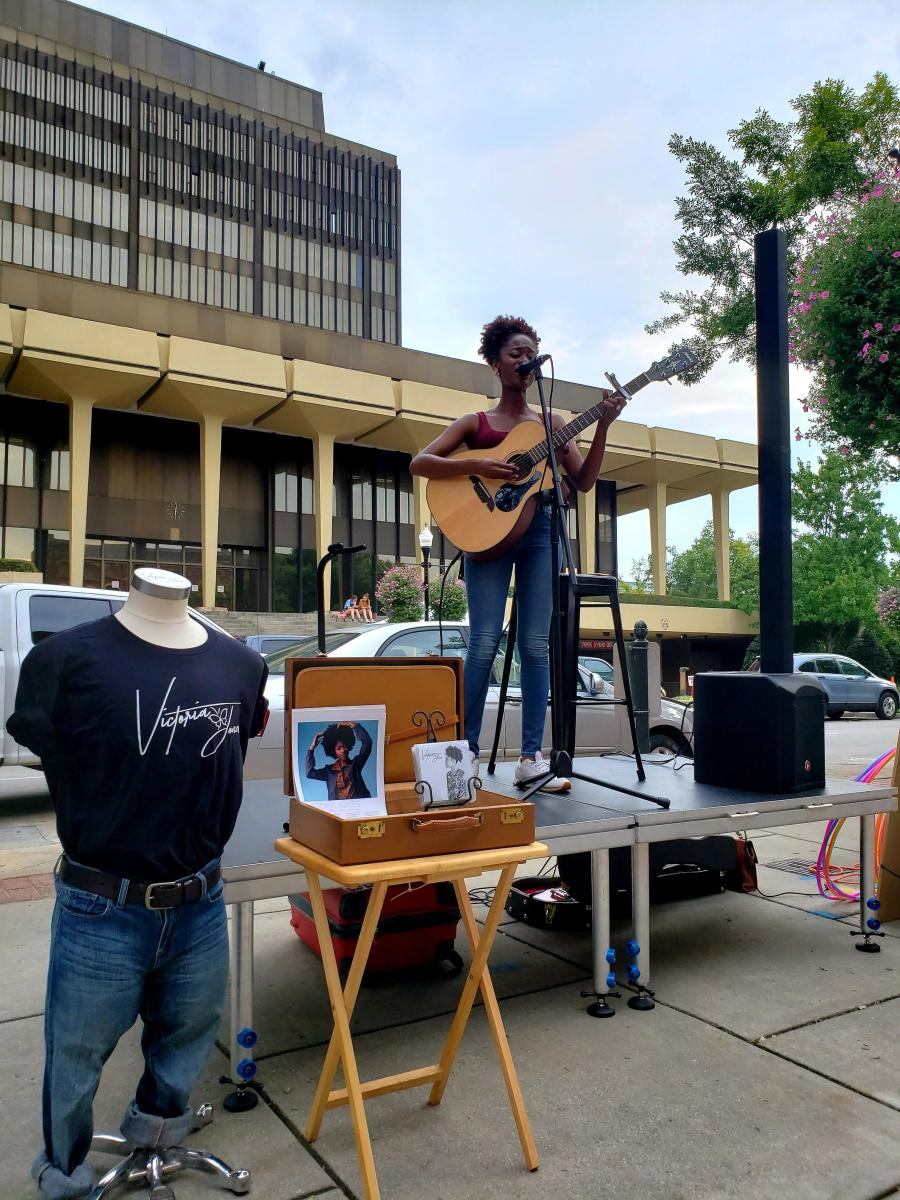 Downtown Busking