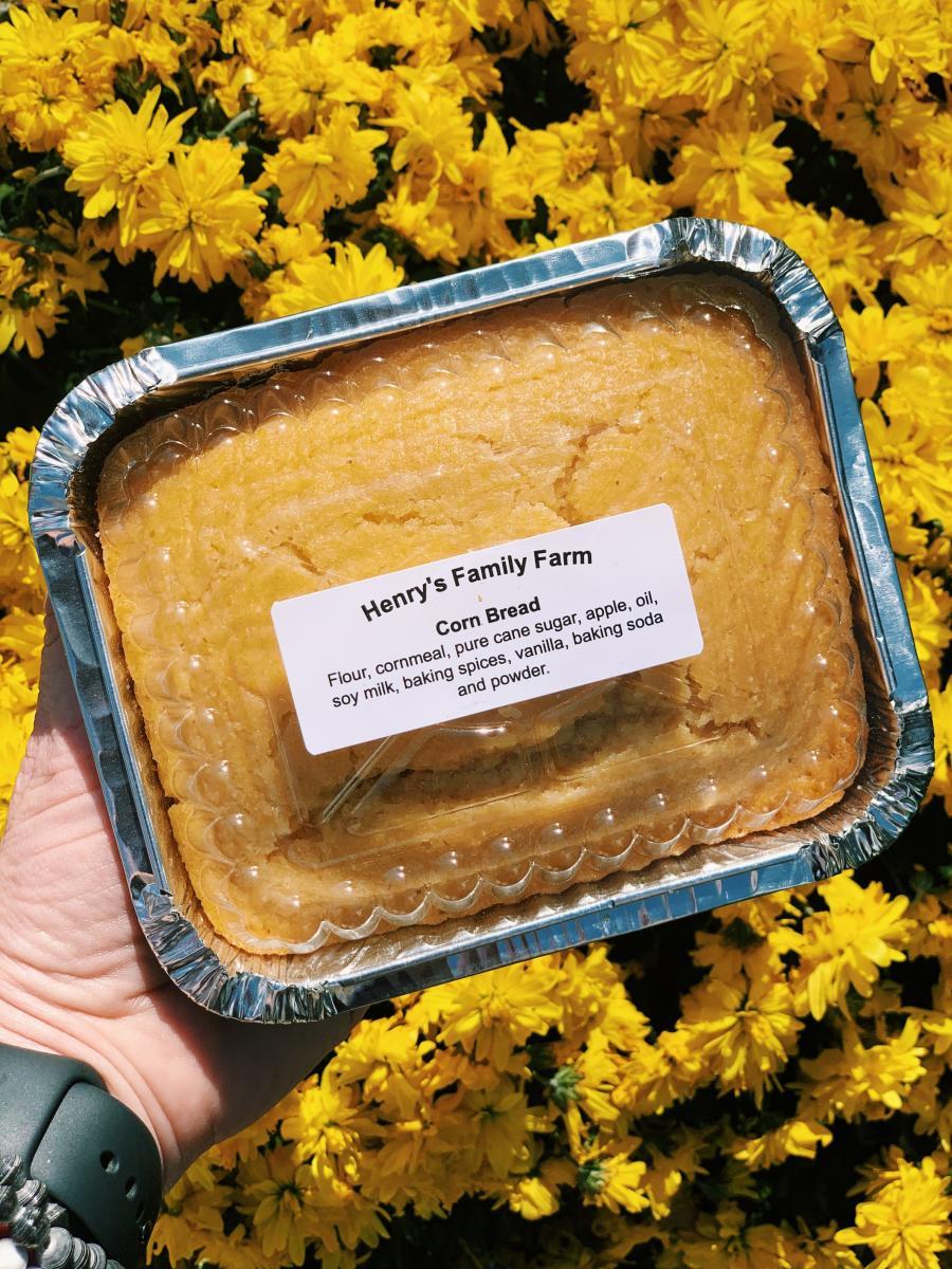 Henry's Family Farm Cornbread Vegan