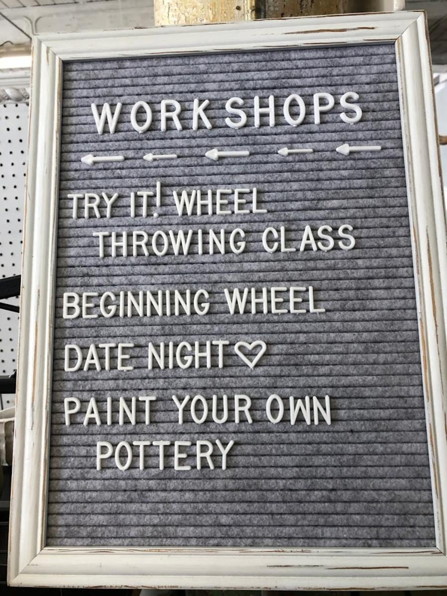 Wheel Throwing Class Pottery