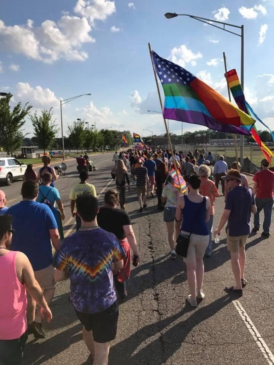 Past Huntsville Pride Parade LGBQ