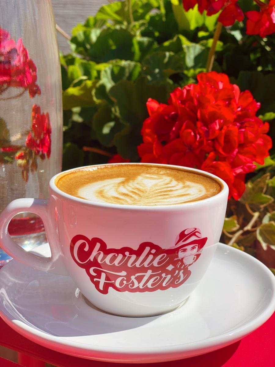 Charlie Fosters Vegan Coffee