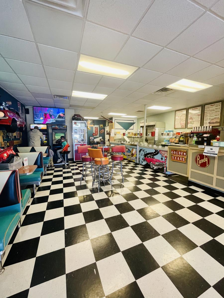 Golden Years Ice Cream Parlor