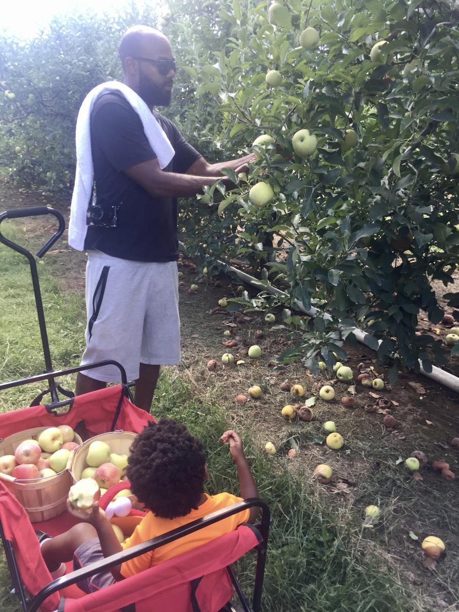 Scott's Orchard Apple Picking Fall Zenovia