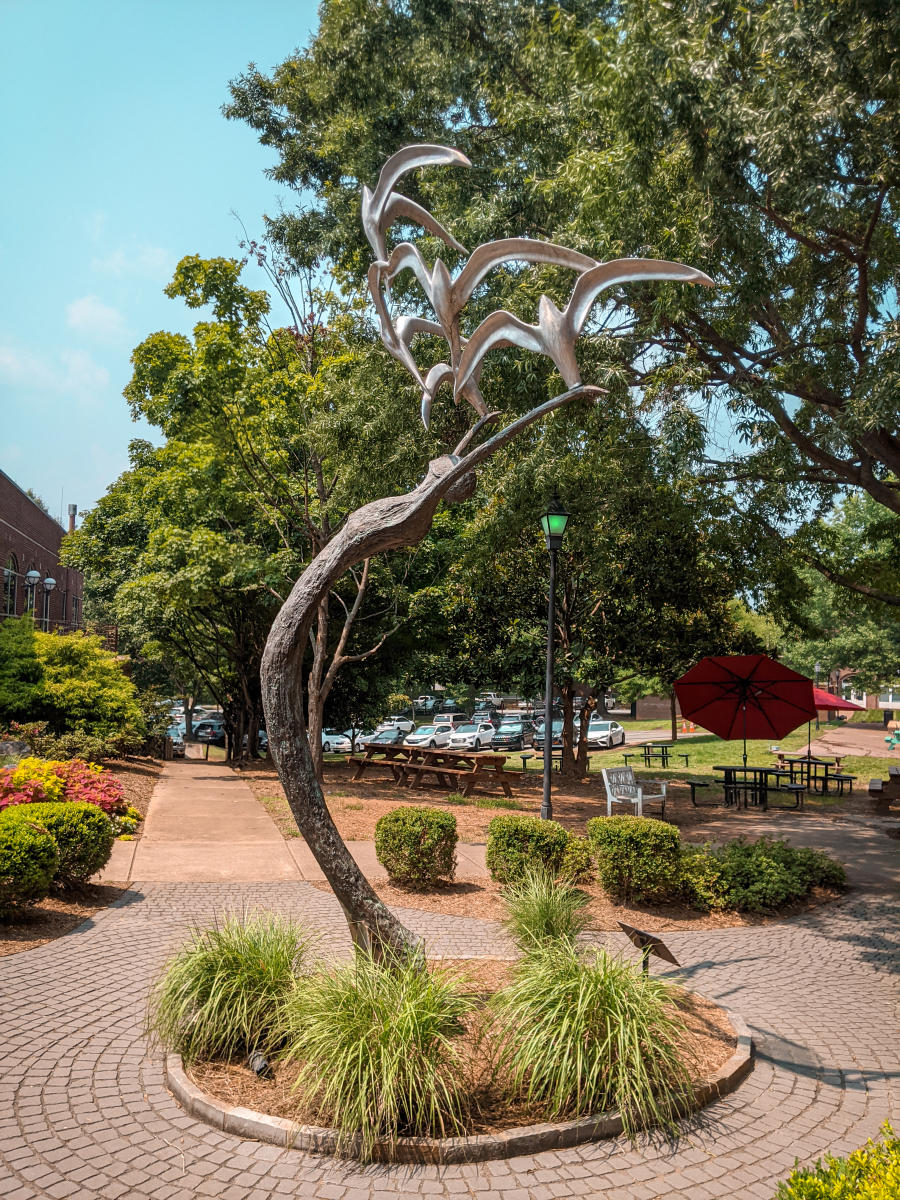 Davidson sculpture Dance of Life