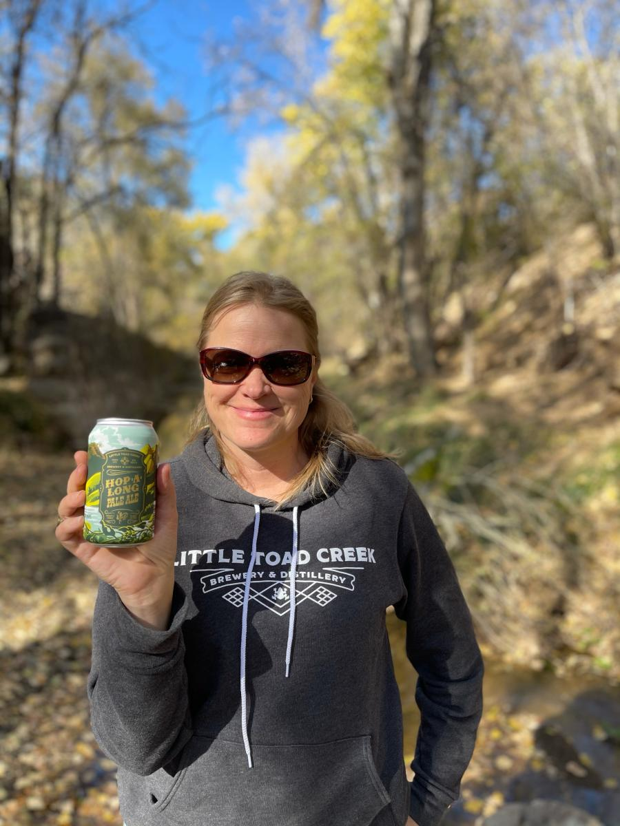 Teresa Dahl-Bredine, Courtesy of Little Toad Creek Brewery & Distillery, New Mexico Magazine