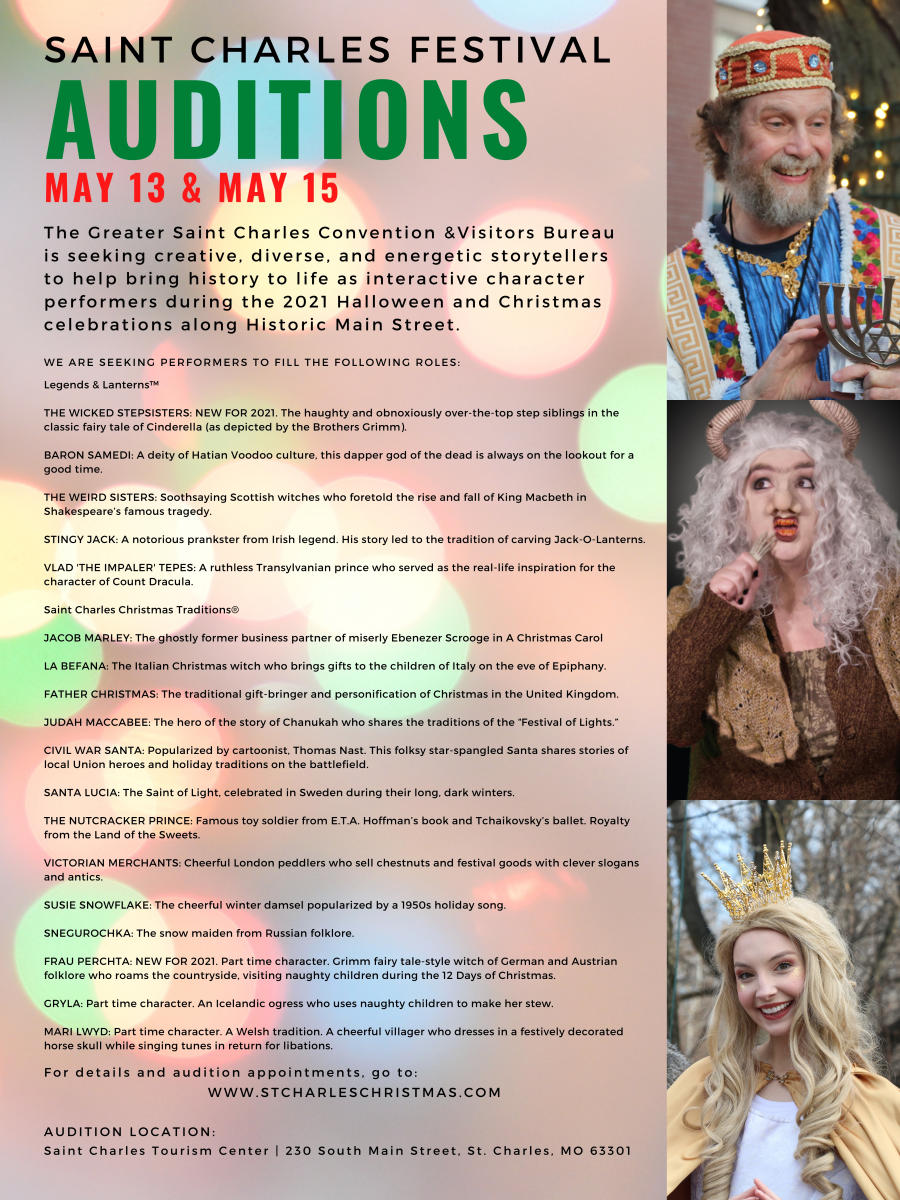 Festival Auditions Flyer