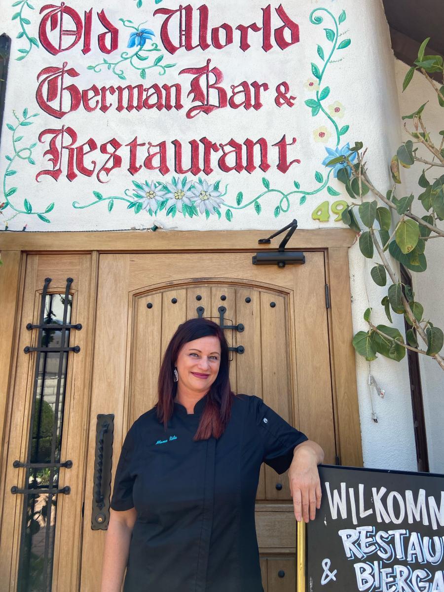 Old World Village Chef Rita