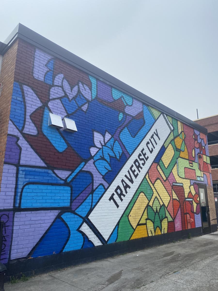 State Street Color Block Mural