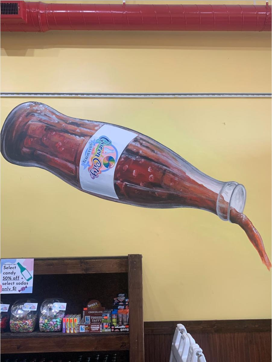 Soda Pop Mural