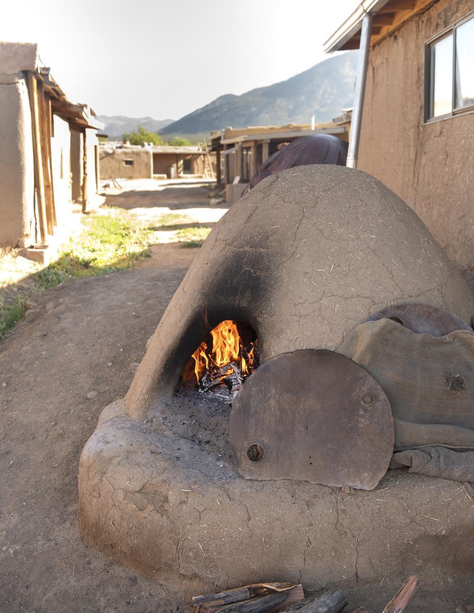 A horno at Taos Pueblo