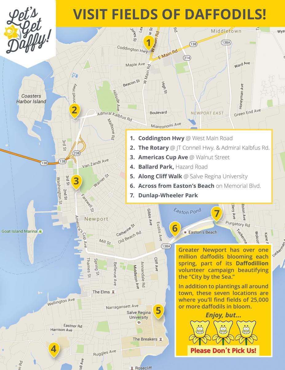 Daffodil Days Map