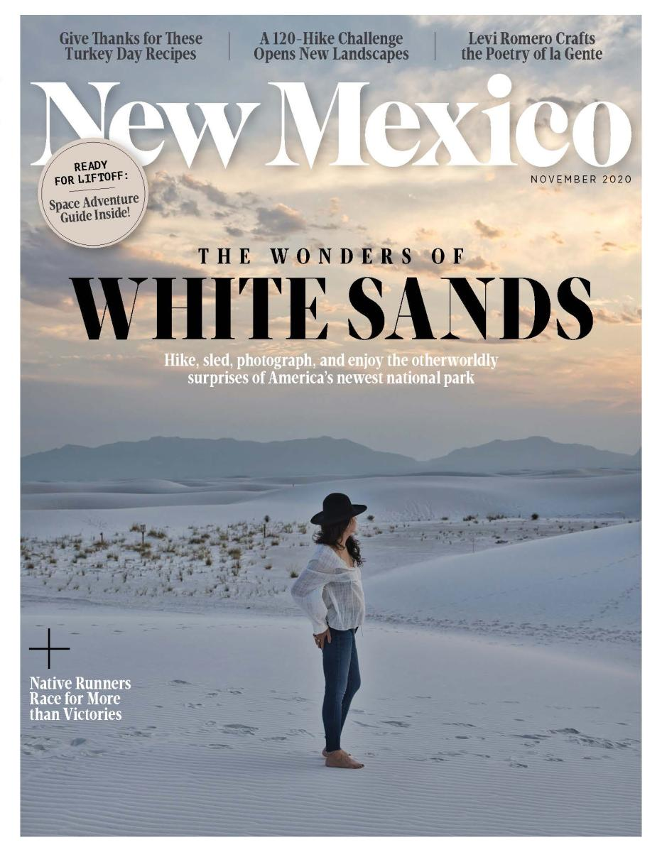 New Mexico Magazine Cover of November 2020