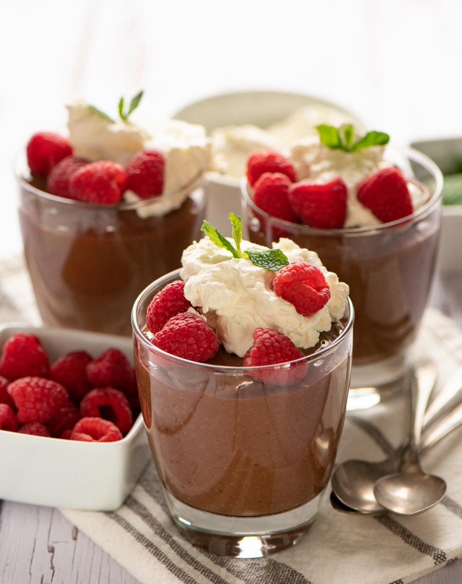 Ancho Chocolate Pudding