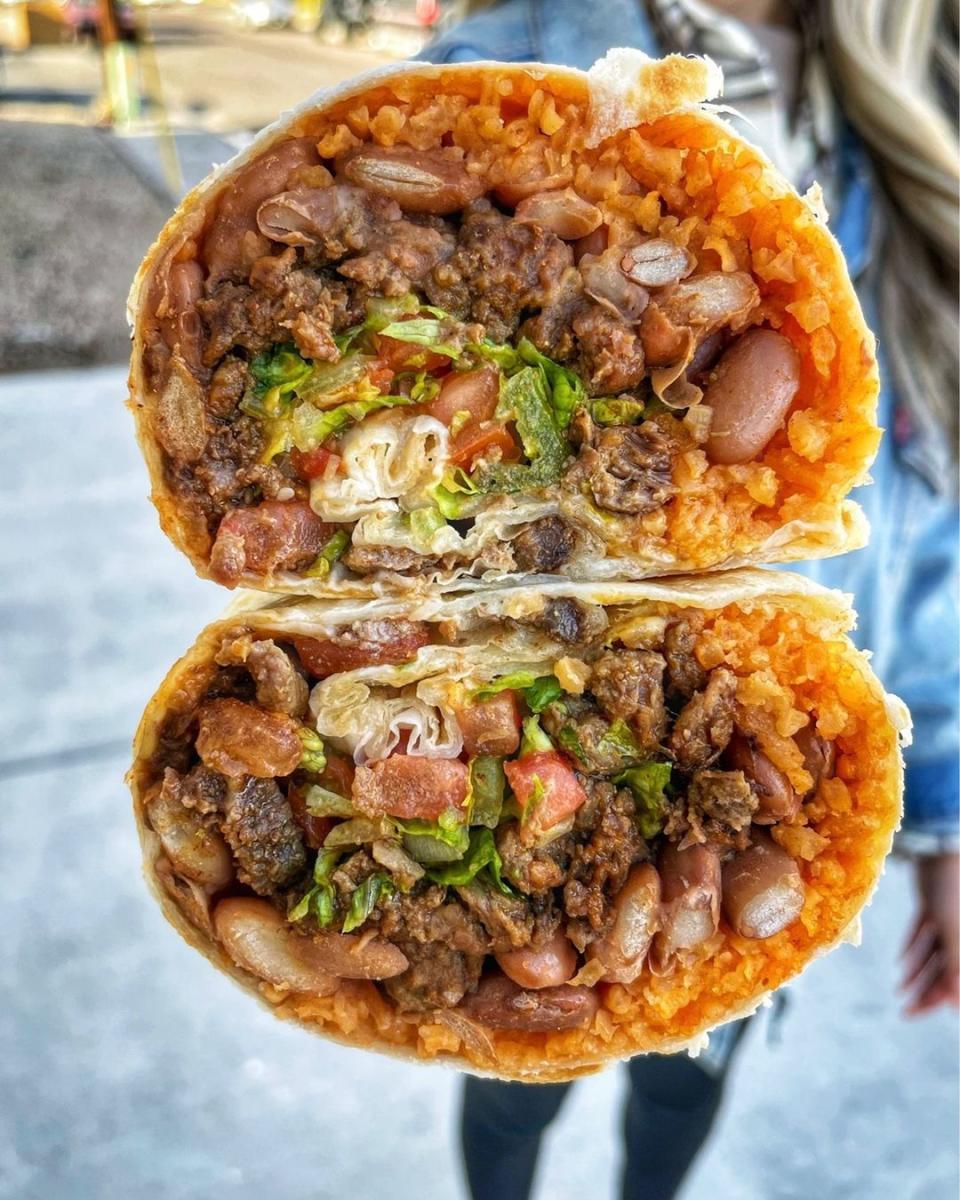 The Taco Spot - Burrito