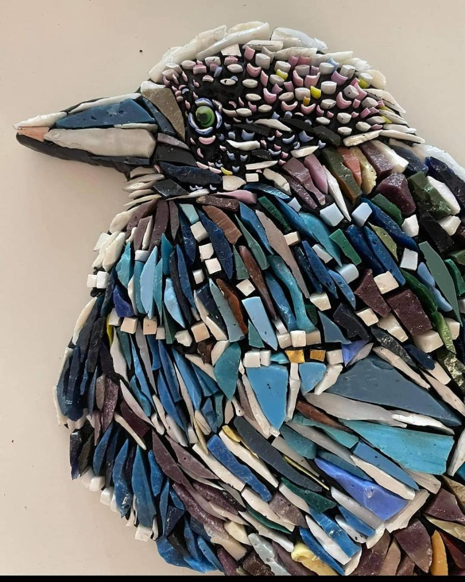 Feather Project, Sager Mosaics