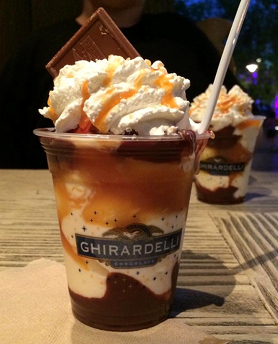 Ghirardelli Hot Fudge Sundae
