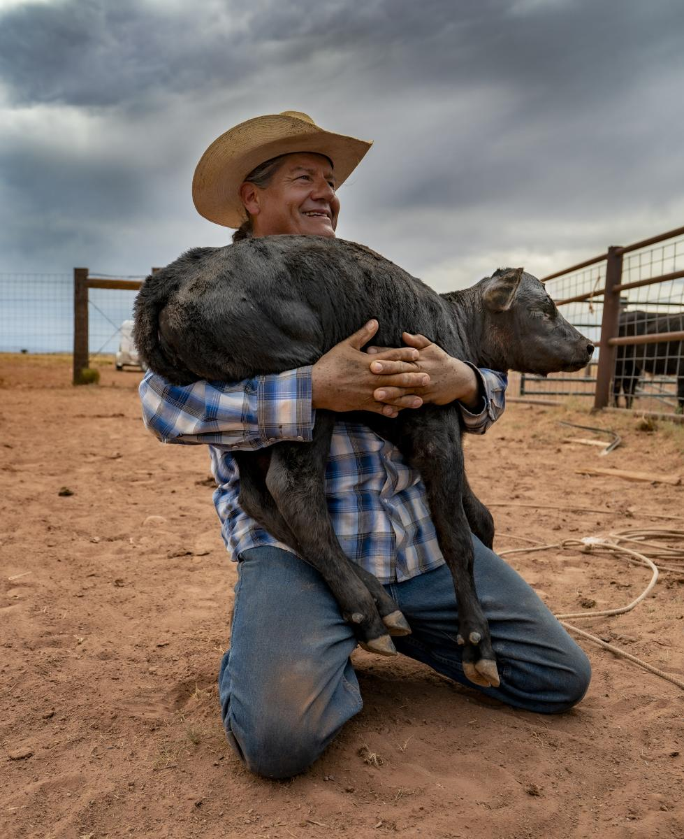 Native American Cowboys, Photograph by Shannon Stevens, New Mexico Magazine