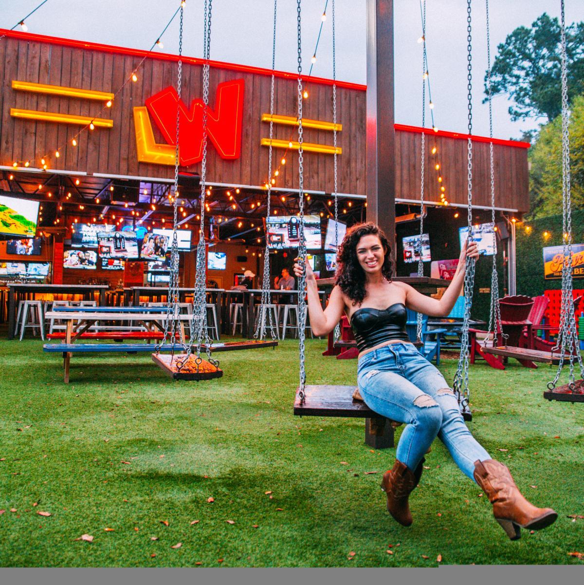 Little Woodrow's swing