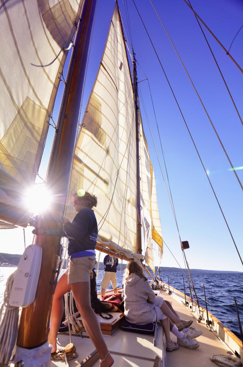 Schooner Excursions sailing