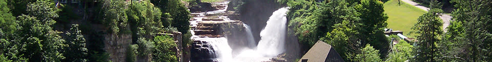 Ausable Chasm Falls_Ausable Chasm - Photo by Adirondack Coast Visitors Bureau