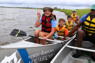 NC Aquarium Summer Camp Canoeing