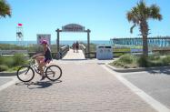 Biking Kure Beach