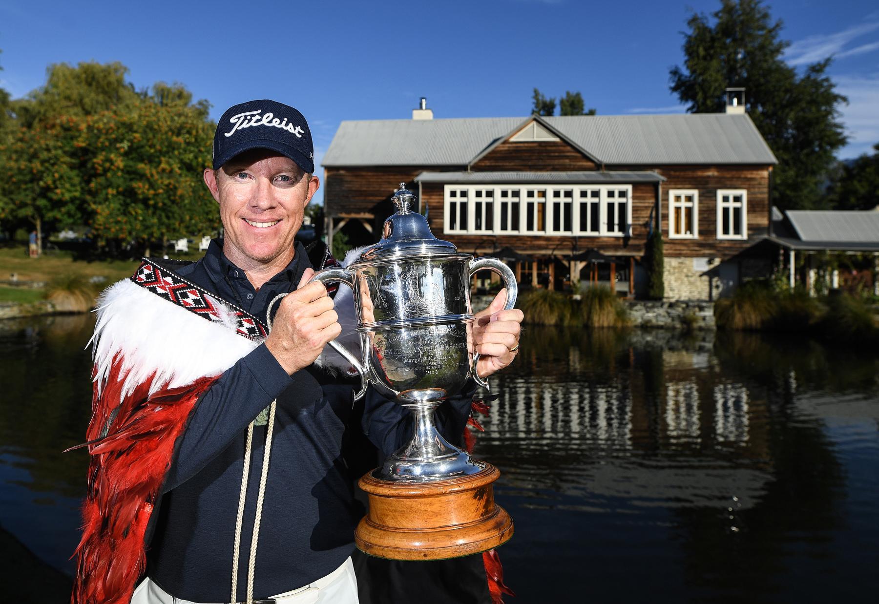 2020 NZ Golf Open Winner Brad Kennedy