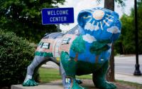 Welcome Center Bulldog