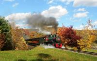 Tweetsie Engine No. 12 in the Fall