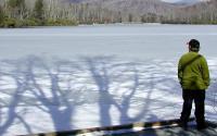 A Frozen Price Lake | Blue Ridge Parkway MP 297