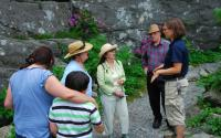 Naturalists lead the annual Rhododendron Ramble daily program
