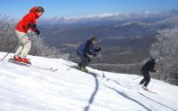 Skiing at Sugar Mountain