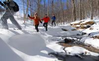 Snowshoeing at Sugar Mountain