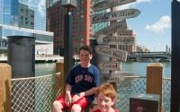 Boston Tea Party Ship signs