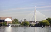 Zakim Bridge & Science Museum