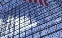 JFK Library Atrium