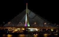 Zakim Bridge at Night 6801-2