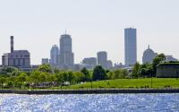 Boston Skyline from Castle Island 4061May 25, 2008-3