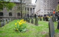 King's Chapel in springtime