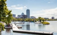 Charles river Prudential view