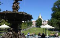 Boston Common - Fountain